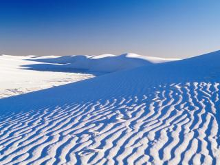 обои Белые пески в Нью-Мексико фото
