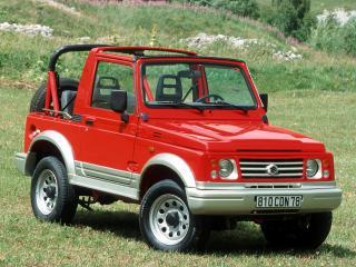 обои Suzuki Samurai красный фото