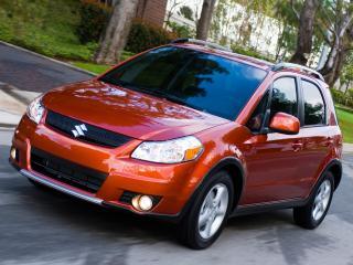 обои Suzuki SX4 красный фото