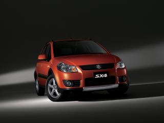 обои Suzuki SX4 студийное фото фото