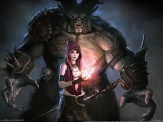 обои Dragon age origins game фото