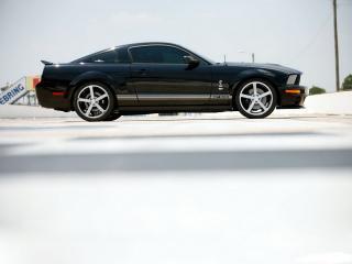 обои Shelby Mustang GT500 вид с правого бока фото