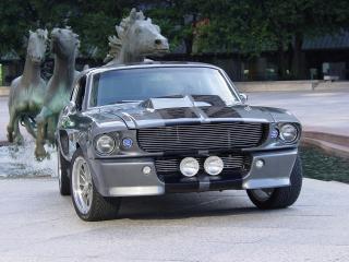обои Shelby Mustang GT500 вид спереди фото