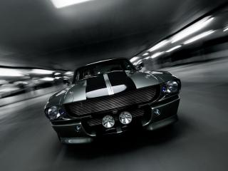 обои Shelby Mustang GT500 speed фото