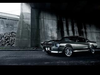 обои Shelby Mustang GT500 в здании фото