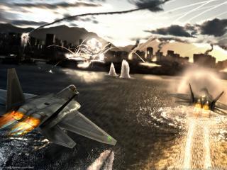 обои Авиасимулятор tom clancys hawx фото
