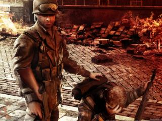 обои Brothers in arms hells highway game фото