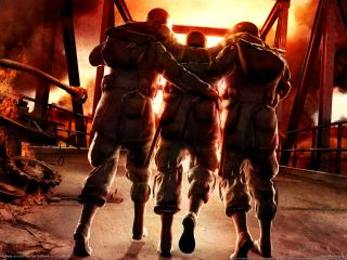 обои Game brothers in arms hells highway фото