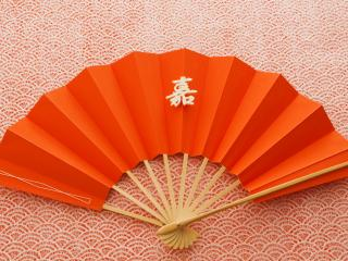 обои Оранжевый веер  фото