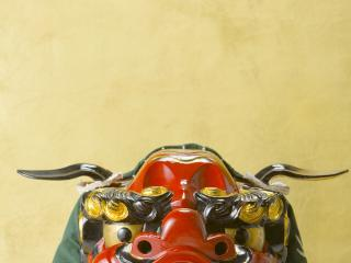 обои Глаза японской маски дракона фото