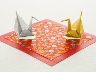 обои Оригами,   две зверюшки фото