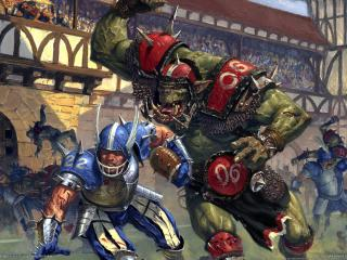 обои Game blood bowl фото