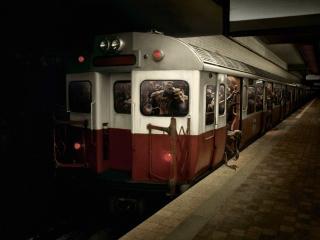 обои Монстры в метро фото