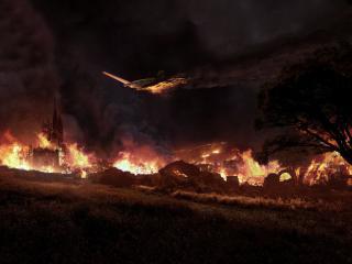 обои Огненная катастрофа фото