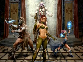 обои Legends of norrath inquisitor the game фото