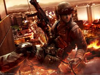 обои Tom clancys rainbow six vegas 2 фото