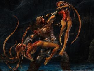 обои Beowulf the game фото