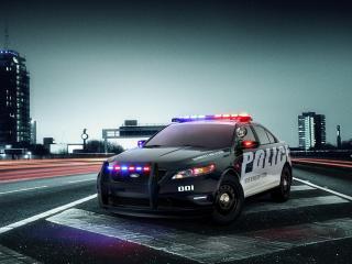 обои Ford Police Interceptor фото