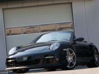 обои Porsche 9ff ok 2007 вид авто с другого стороны фото