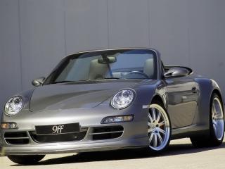 обои Porsche 911 9ff вид авто спереди фото