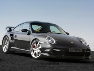 обои Porsche 911 sportec вид авто под углом фото