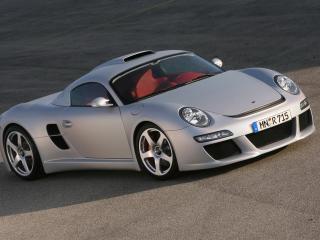 обои Porsche CTR3 ruf вид авто под углом к проекции фото