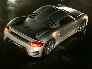 обои Porsche CTR3 ruf вид авто с другого угла обзора фото