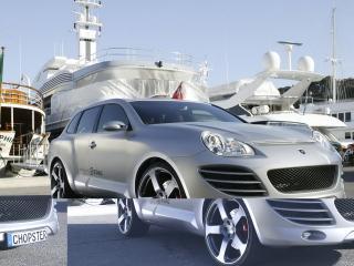 обои Rinspeed Chopster вид авто с другого ракурса фото
