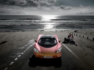 обои Rinspeed ichange вид авто под другим углом к камере фото