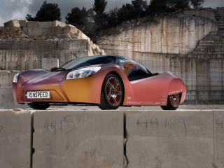 обои Rinspeed ichange вид авто с развороту фото
