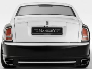 обои Rolls RoycePhantomConquistador Mansory 2008 вид авто сзади фото