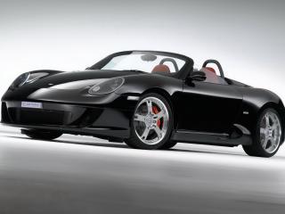 обои S Torino Spyder вид авто с другого плана обзора фото
