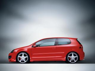 обои VW abt gti вид авто сбоку фото