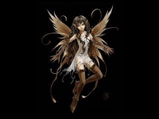обои Задуман ангел фото