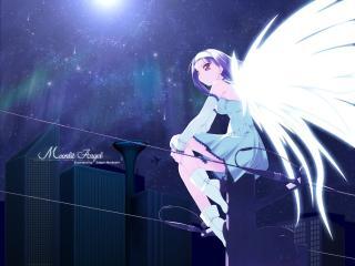 обои Ангел в раздумье фото