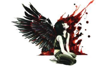 обои Кровавый ангел фото