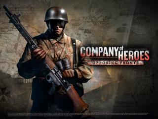 обои для рабочего стола: Company of Heroes: Opposing Fronts