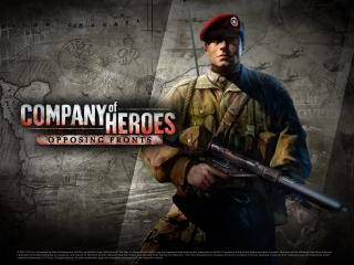 обои Company of Heroes: Opposing Fronts фото