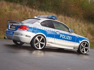 обои Полицейская БМВ фото