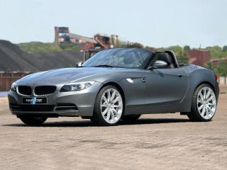 обои BMW Z4 Hartge у шахты фото