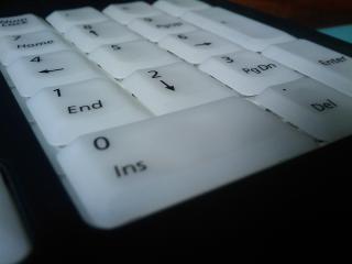обои NumLock-клавиатура крупным планом фото
