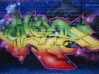 обои слово из граффити фото