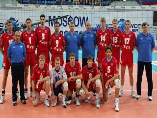 обои Волейбольная сборная России фото