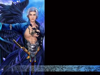 обои Синий ангел фото
