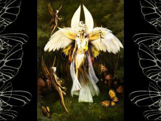 обои Ангел и агелята фото