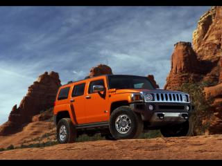 обои Hummer H3 Alpha Front And Side фото