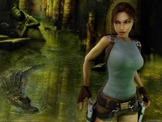 обои The game lara croft tomb raider anniversary фото