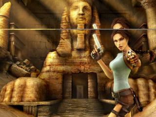 обои Game Lara Croft tomb raider anniversary фото