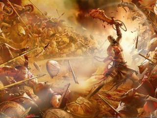 обои God of war 2 the game фото