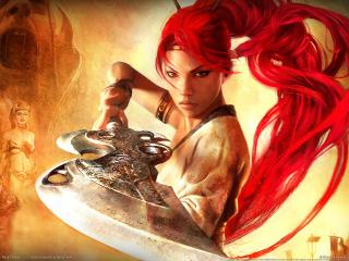 обои Heavenly sword the game фото